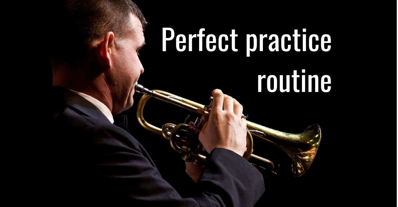 Perfect music practice routine